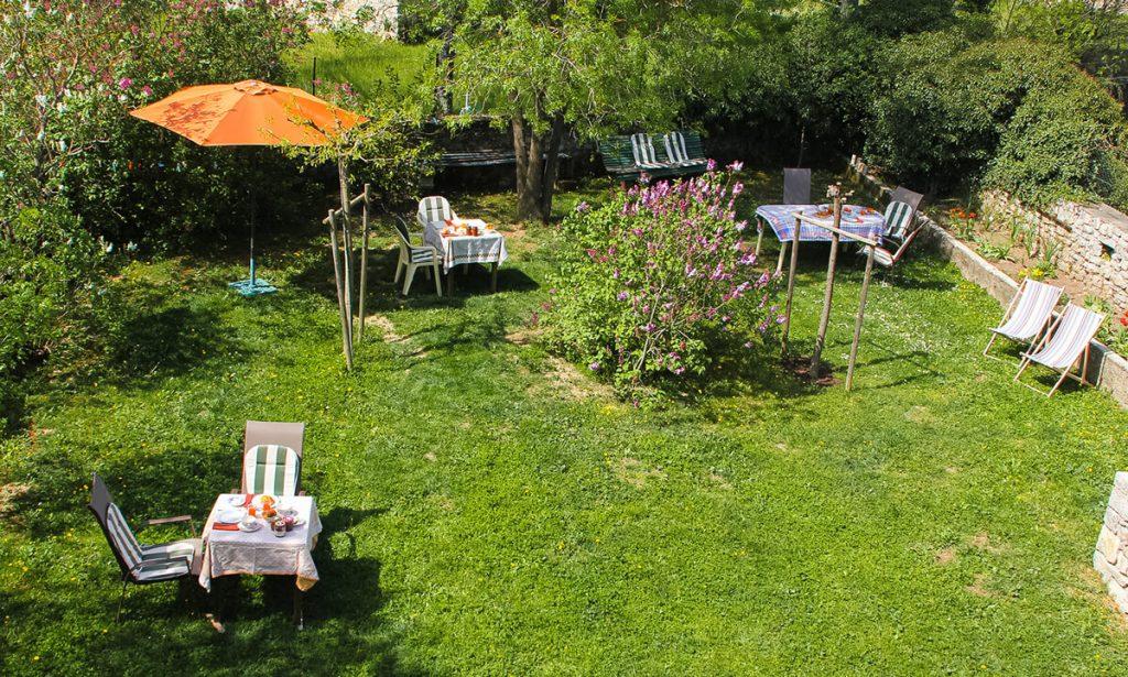 MLG jardin et dejeuner